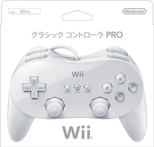 Wii Classic Controller - White (Japanese Version)