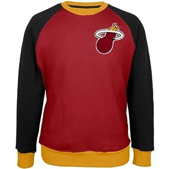 Miami Heat - Creewz Crew Neck Sweatshirt - 2X-Large by UNK