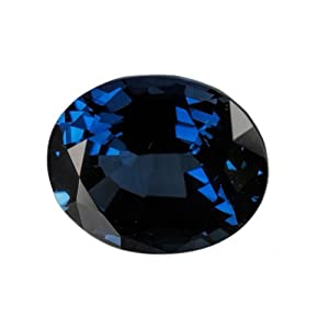 Blue Oval Sapphire Unset Loose Gem Over 4 Carats