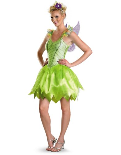 Disguise Unisex - Adult Rainbow Deluxe Tinkerbell
