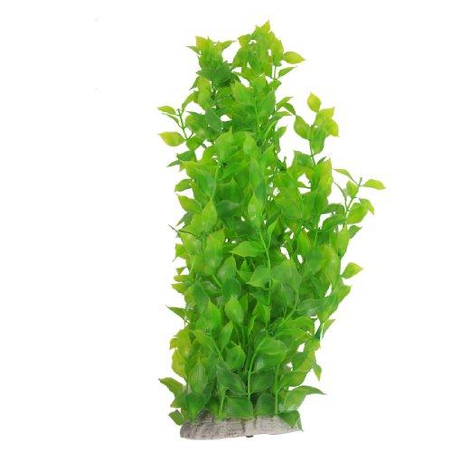 Sourcingmap plante aquatique d corative en plastique pour aquarium vert 40 cm for Plante 90 cm