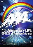 AAA 4th Anniversary LIVE 090922 at Yokohama Arena [DVD]