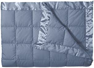 Eddie Bauer Unisex-Adult Down Blanket, Chinablue FL/QN Full Queen