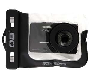 Overboard Étui étanche universel pour appareil photo avec zoom + I7 (Noir)