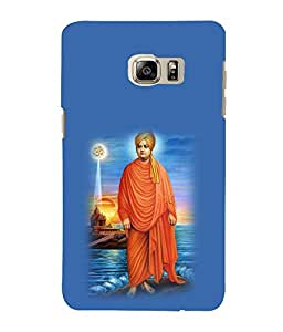 printtech Swami Vivekanand Om Back Case Cover for Samsung Galaxy S4::Samsung Galaxy S4 i9500