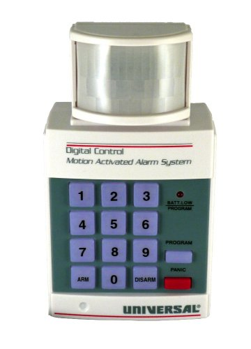 Universal Security Instruments HS-5300 Portable Programmable 105DB Motion Sensing Security Alarm