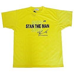 Yonex Stan the Man Sports T-Shirt- Yellow (XX. Large)