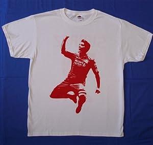 Luis Suarez Support Suarez Liverpool T-shirt M by LiverpoolTees.com