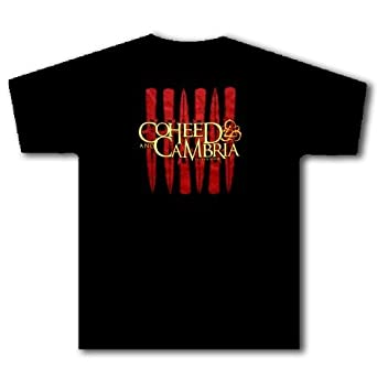 COHEED AND CAMBRIA - Last Supper Knives - Black T-shirt - size Youth Medium