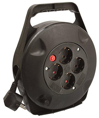 as-Schwabe-16090-Kabelbox-Kabeltrommel-10m-H05VV-F-3G15-IP20-Innenbereich-schwarz