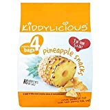 Kiddylicious Pineapple Snacks 4 x 12G