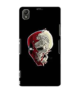 EU4IA DEADPOOL MATTE FINISH 3D MATTE FINISH Back Cover Case For Sony Xperia Z...