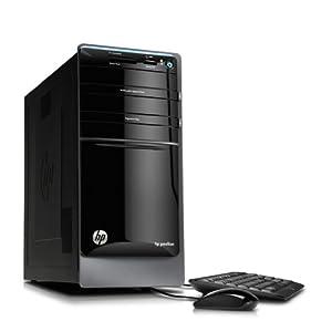 HP Pavilion p7-1120 Desktop Computer - Black