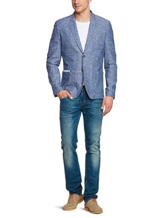 SELECTED HOMME Herren Sakko Slim Fit 16031246 Tate blazer, Gr. 48 (S), Blau (Blue)