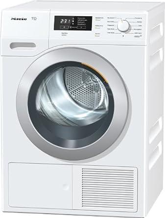 Miele TKB450WP D LW Trockner FL / A+ / 265 kWh/Jahr / 8 kg / Patentierte Schontrommel / Wärmepumpentechnologie / lotos weiß
