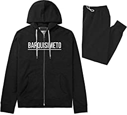 Kings Of NY City Of Barquisimeto Simple Underline Sweat Suit Sweatpants Small Black