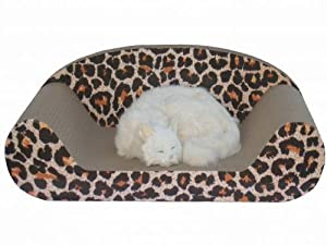 Go Pet Club CP015 Cat Scratching Board Leopard Print