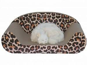Go Pet Club CP015 Cat Scratching Board Leopard Print