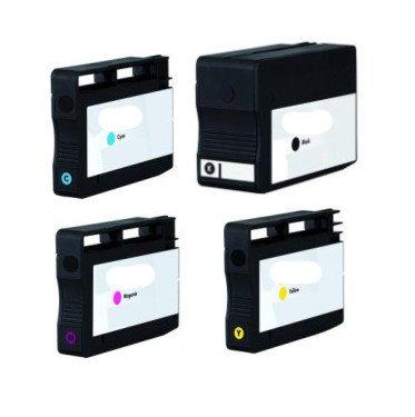 4 Druckerpatronen kompatibel für HP 950XL 951XL SET mit Chip und Füllstandsanzeige funktioniert!!!