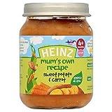 Heinz Mum's Own Recipe Sweet Potato & Carrots 4+ Mths 128G