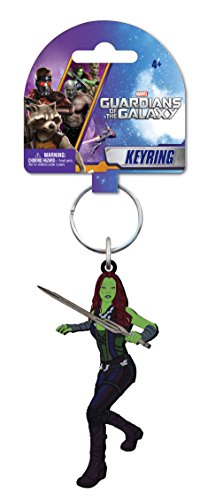 Marvel Gamora Soft Touch PVC Key Ring