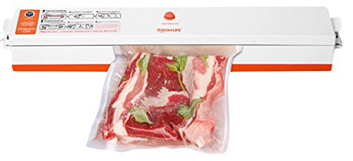 TINTON LIFE Vacuum Sealer Package Machine Sealing System Heat Sealer for Food Fruits Meat with Free  Vacuum Bags, 15 Piece (Mini Bug Vacuum compare prices)