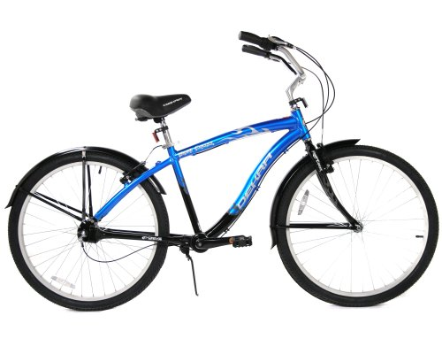Dekra D-Drive West Coast Men's Chainless Cruiser Bike