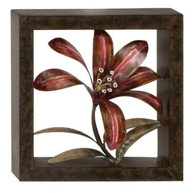 Drifting Flower Metal Wall Decor Sculpture