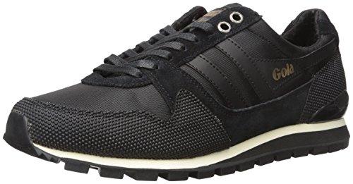 Gola Men's Ridgerunner Ii Fashion Sneaker, Black/Black, 10 UK/11 M US
