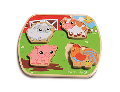 EverEarth Farm Wooden Puzzle EE33601 - 1