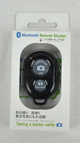 【日本語パッケージ・説明書付・技適マーク有、正規品】AB SHUTTER 3 スマートフォンカメラ用リモコン 簡単自撮・Bluetooth使用 (ブラック)