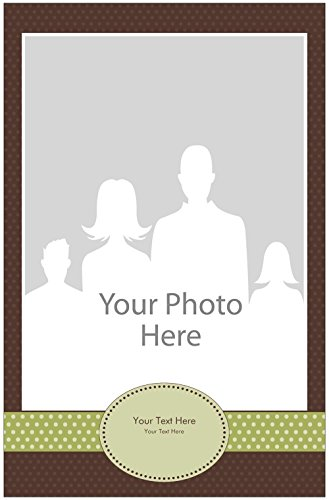 Vistaprint Brown Baby Announcement Small Posters front-1057936