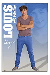 Iposters One Direction Louis 2012 Poster - 91.5 X 61cms (36 X 24 Inches) from iPosters