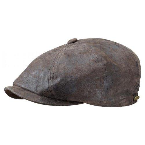 stetson-hatteras-pig-skin-cap-brown-xl