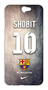 Customised Barcelona Football Club Desing mobile case for HTC One A9 - Hard Case Back Cover - Printed Designer - FCB BARCA - HTCOA9BARCACUST19