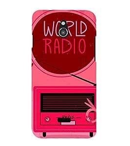 World Radio Cute Fashion 3D Hard Polycarbonate Designer Back Case Cover for InFocus M2