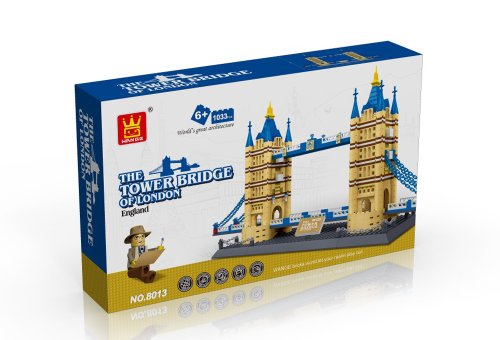 United Kingdom Tower Bridge of London England Building Blocks 1033 pcs set Worlds great architecture series