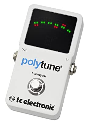 TC Electronic Polytune 2 Pedal Tuner by TC Electronics