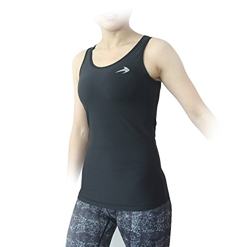 Compression-Tank-Top-Womens-Racerback-Sleeveless-Sports-Tee