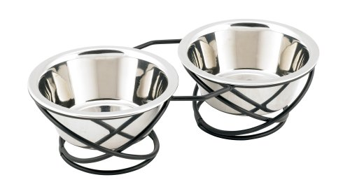 Buddys-Line-Spring-Style-Double-Diner-Pet-Bowl