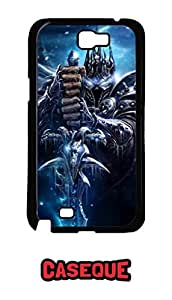 Caseque Warcraft Back Shell Case Cover For Samsung Galaxy Note 2