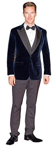 Benedict Cumberbatch (Blue Jacket) Cardboard Cutout (Life Size and Mini Size). Standee. Standup. (Life Size Cutout)