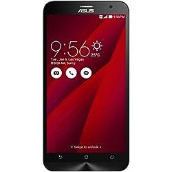Asus ZenFone 2 Smartphone 5.5 pollici Full HD, RAM 4 GB, 32 GB, 4G/LTE, Rosso