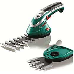 Bosch Isio Electric Cordless Lithium Ion Shrub & Grass Shear Set