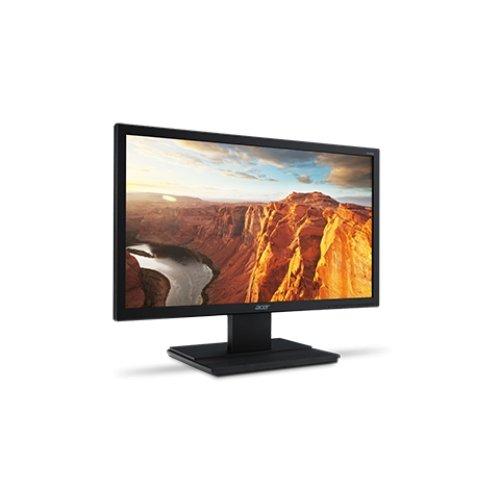 Acer Um.Iv6Aa.A01 V206Hq - Led Monitor - 20 Inch - 1600 X 900 - 200 Cd/M2 - 100000000:1 (Dynamic) - 5 Ms - Dvi, Vga - Speakers - Black