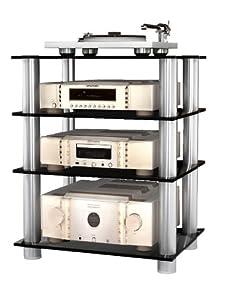 Vcm musino 16195 mobile per impianto stereo in vetro - Impianto stereo per casa ...