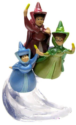 Disney Sofia the First Exclusive 3.5 inch PVC Figurine Flora, Fauna & Merryweather - 1