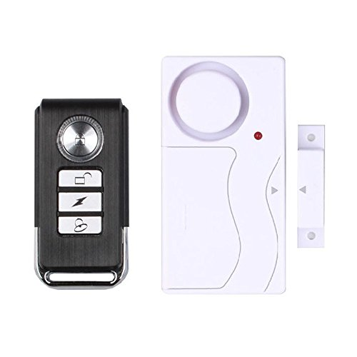 Vinker MG-B Home Anti-theft Door and Window Motion Sensor magnetism + vibration Two in one Anti-Burglar Security Alarm System with Remote Control Motion Detector