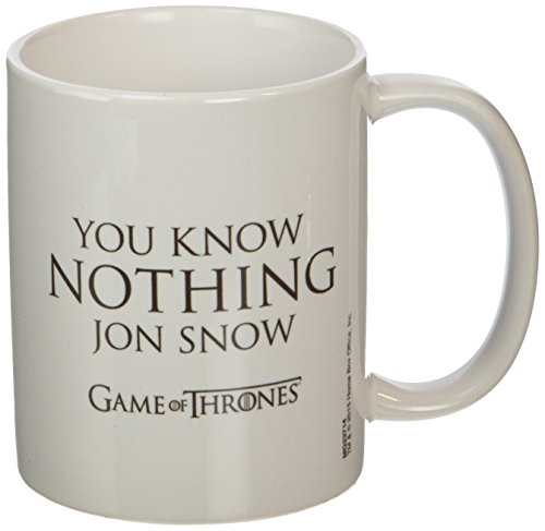 Tazza Game of Thrones Mug You Know Nothing Jon Snow Pyramid International