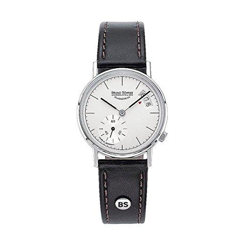 Bruno Söhnle Women's Quartz Watch with Silver Rondo Analogue Quartz Leather 17-13066Pump